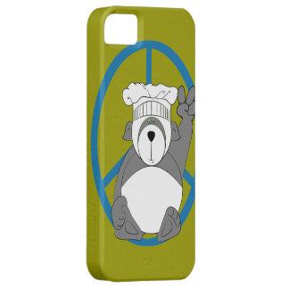 Panda Bear Chef Peace iPhone SE/5/5s Case