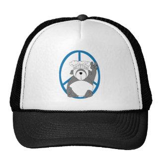 Panda Bear Chef Peace Trucker Hat