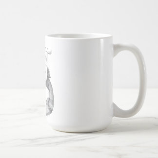 Panda Bear Chef Picture Classic White Coffee Mug