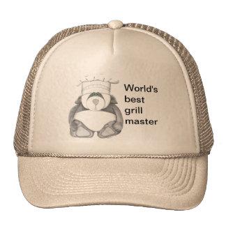 Panda Bear Chef Picture Trucker Hat
