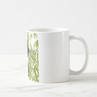 Panda Bear Climbing A Bamboo Tree Coffee Mug