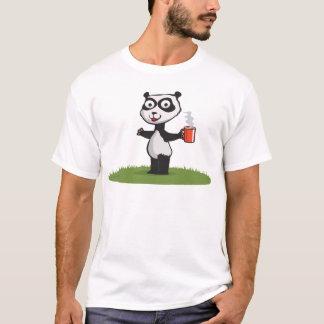 Panda Bear Coffee T-Shirt