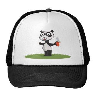 Panda Bear Coffee Trucker Hat