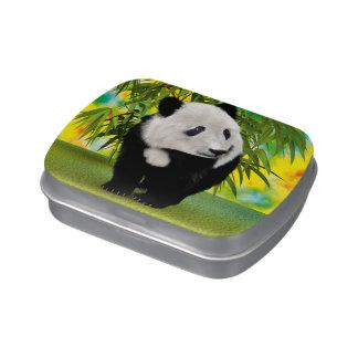 Panda Bear Cub Jelly Belly Tins