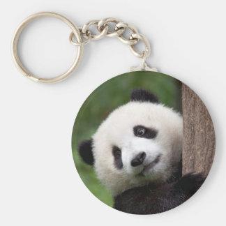 Panda Bear Cub Key Chain