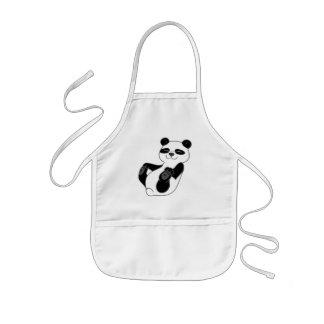 Panda Bear Cub Kids' Apron