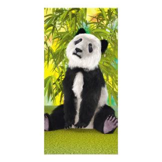 Panda Bear Cub Photo Card