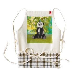 Panda Bear Cub Zazzle HEART Apron