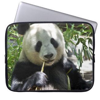 Panda Bear Custom Laptop Case