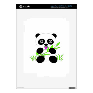 Panda Bear Design Gifts and Accessories iPad 3 Decals