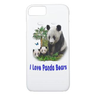 Panda bear designs iPhone 7 case