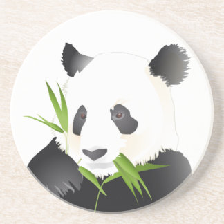 Panda Bear Drink Coaster