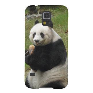 Panda Bear eating some bamboo Galaxy S5 Covers
