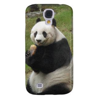 Panda Bear eating some bamboo Samsung Galaxy S4 Case