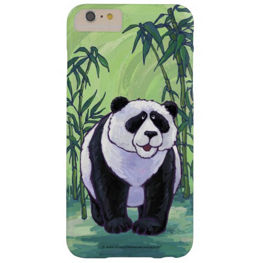 Panda Bear Electronics Barely There iPhone 6 Plus Case