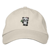 Panda Bear Embroidered Baseball Hat