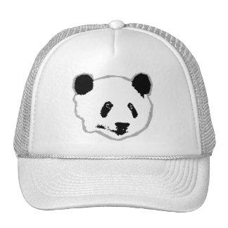 Panda Bear Face Trucker Hat