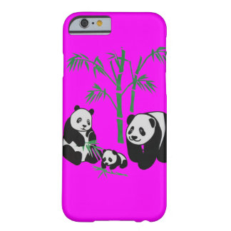 Panda Bear Family Barely There iPhone 6 Case