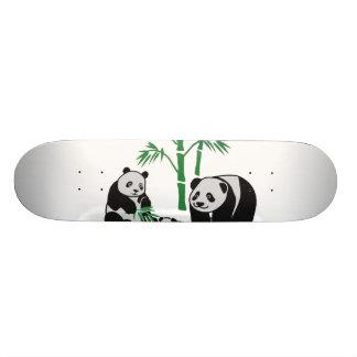 Panda Bear Family Skateboard