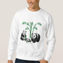 Panda Bear Family Sweatshirt