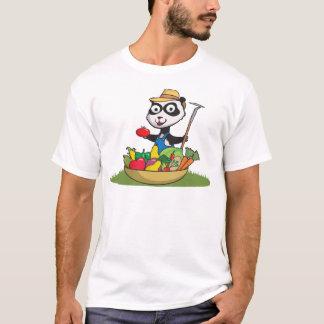 Panda Bear Gardener T-Shirt