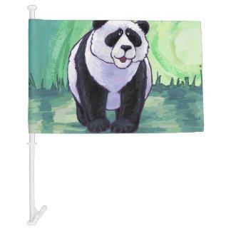 Panda Bear Gifts & Accessories Car Flag