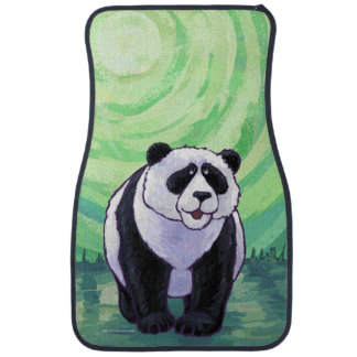 Panda Bear Gifts & Accessories Car Mat