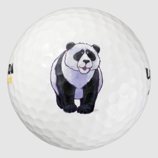 Panda Bear Gifts & Accessories Pack Of Golf Balls
