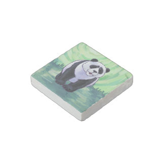 Panda Bear Gifts & Accessories Stone Magnet