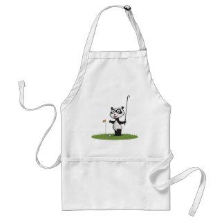 Panda Bear Golf Adult Apron