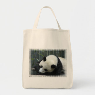 Panda Bear Grocery Bag