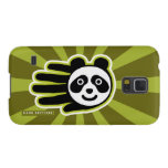Hand shaped Panda Bear Hand Case For Galaxy S5