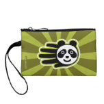 Hand shaped Panda Bear Hand Change Purse