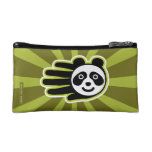 Hand shaped Panda Bear Hand Makeup Bag