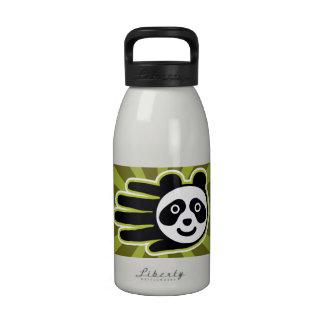 Panda Bear Hand Water Bottle