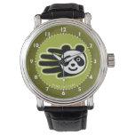 Hand shaped Panda Bear Hand Wristwatch