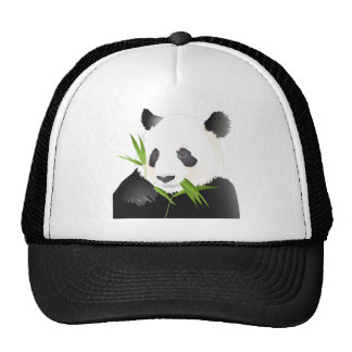 Panda Bear Mesh Hat