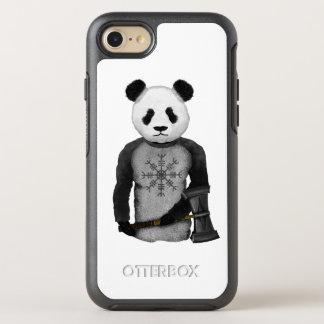 Panda Bear Holding Thor's Viking Hammer OtterBox Symmetry iPhone 7 Case