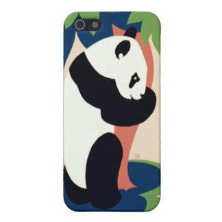 Panda Bear Hugging a Tree iPhone 4 Case