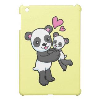 Panda Bear hugging baby bear iPad Mini Cover