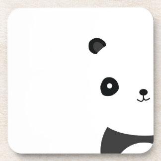 Panda Bear Hugs Drink Coaster