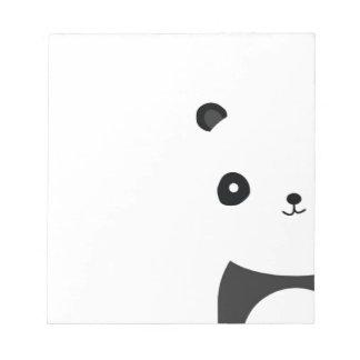 Panda Bear Hugs Notepad