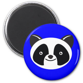 Panda Bear Kawaii face 2 Inch Round Magnet