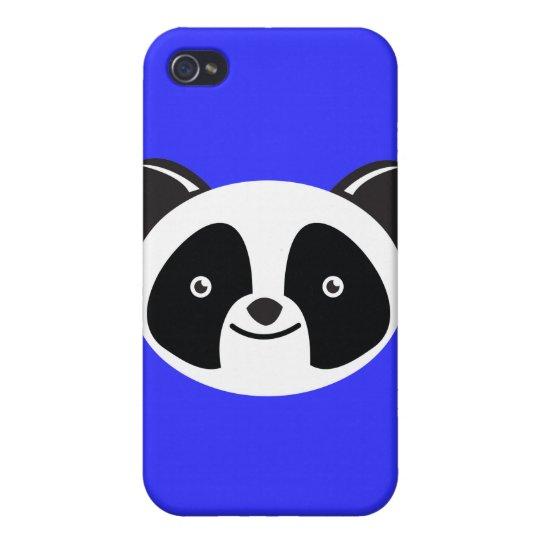 Panda Bear Kawaii face iPhone 4/4S Case