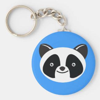 Panda Bear Kawaii face Keychain