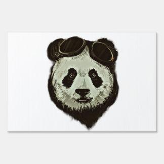 Panda Bear Lawn Sign