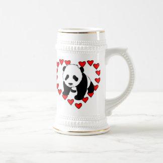Panda Bear Love Beer Stein