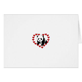 Panda Bear Love Card