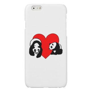 Panda Bear Love Glossy iPhone 6 Case