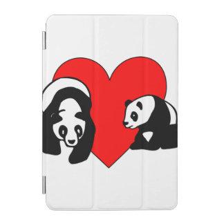 Panda Bear Love iPad Mini Cover